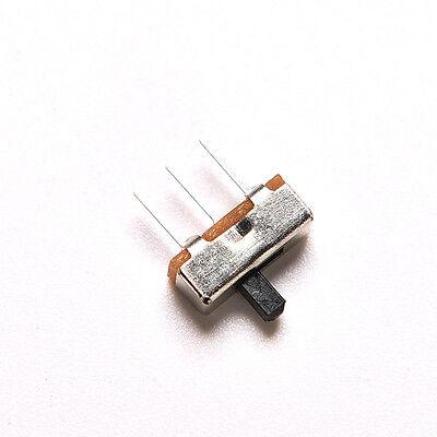 2 Position Spdt 1P2T 3 Pin Leiterplatten-Panel Vertikaler Schiebeschalter LMD YR 5