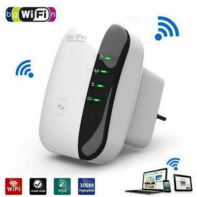 WiFi Signal Extender Range Booster Internet Network   Amplifier Repeater UK Plug 2
