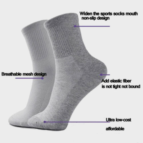 5 Pairs Men's Brand NEW Socks Winter Thermal Soft Cotton Sport Sock warm Casual