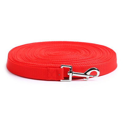 Dog Pet Puppy Training Leads 6FT,15FT,20FT,30FT,50FT,100FT Long UK 9