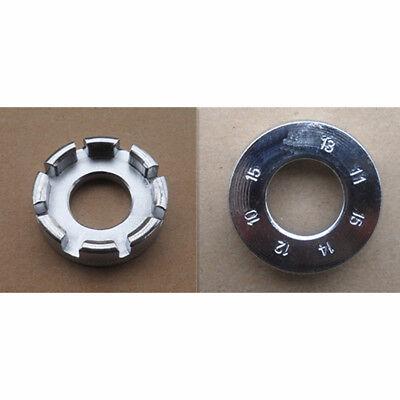 Bike Spoke Key Tool Spoke Adjuster Cycle Bicycle Wrench Spanner Wheel Rim Tight 10
