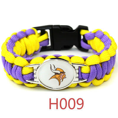 Football NFL US Team Umbrella Rope Wristband  Bracelets Bracelet-Pick Team Gift 2