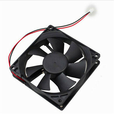 12V 2Pin 92mm 92x25mm Brushless DC Cooling Fan Computer Heatsink Fan