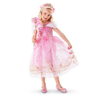 Belle Filles Robe de Princesse Déguisement Rapunzel  Cendrillon Sofia Cosplay 6