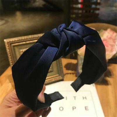 Women's Girl Hairband Twisted Knot Headband Headwrap Hair Band Hoop Accessories 9