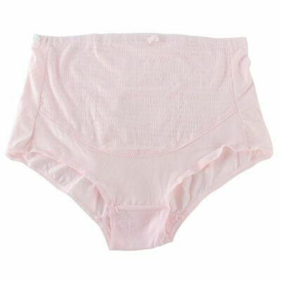 Women's Maternity Lingerie Panties Mid-Rise Everyday Solid Underpants Brief Type 9