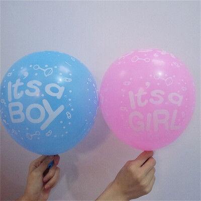 Paquet de 10 à 12 ballons en latex bébé fille / garçon ours bébé douche ball I-n 8