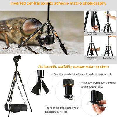 Professional Portable Tripod Ball Head for Canon Nikon Camera DSLR K&F Concept