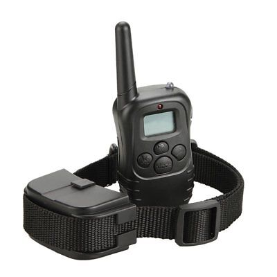Waterproof 1000 Yard 2 Dog Shock Training Collar Pet Trainer with Remote Battery 7