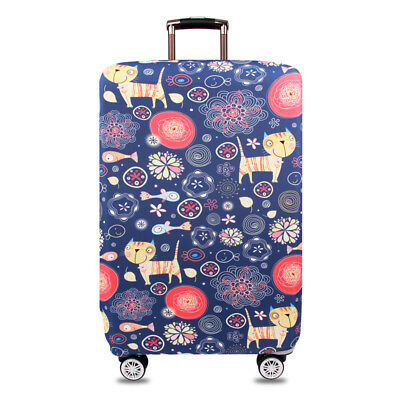 """Elastic Thick Suitcase Protective Cover Luggage Case Cover 18""""-32"""" Anti Scratch 12"""