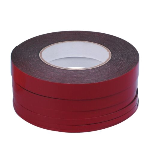 3-20mm 25m Double Sided Adhesive Tape Red Stickers For Mobile Phone LCD Screen 8