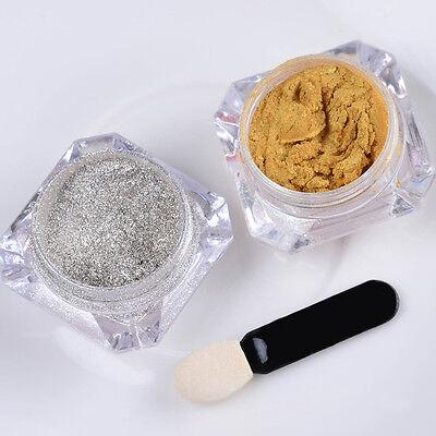 Nail Glitter Mirror Powder Chrome Dust Nail Art Pigment Manicure Decoration DIY 6
