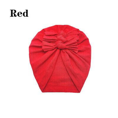 New Baby Headbands Turban Knotted Girl's Hair Bands for Newborn Children Cotton 2