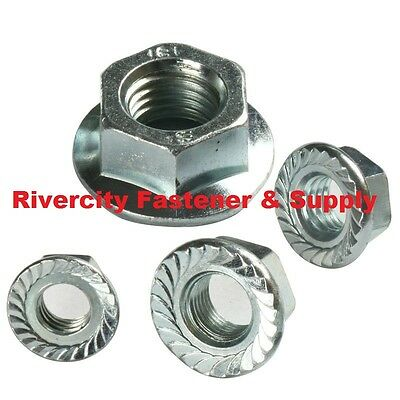 M3-0.5 M4-0.7 M5-0.8 M6-1.0 Stainless Serrated Flange Lock Spin Wiz Nuts 1615pcs