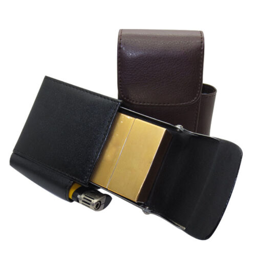 zigaretten etui farbe schwarz coffee mit feuerzeugfach zigarettenbox box neu eur 3 75. Black Bedroom Furniture Sets. Home Design Ideas