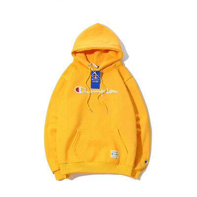 2852ee900529 ... new~Women Men Champion Hoodies Sweater Pullover Adults Sweatshirt  Sport-Coat~uk 11