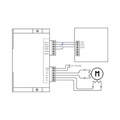DM542 Stepper Motor Driver For 86 57 Series 2-phase Digital Stepper Motor Driver 4