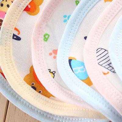 10X Baby Kind Lätzchen Wasserdichte Speichel Handtuch Fütterung Bandana  gl