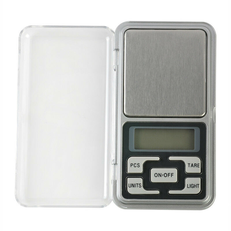 Digital LCD Scale Electronic Balance Weighing Jewelry Pocket Gram 0.01g-500g 10
