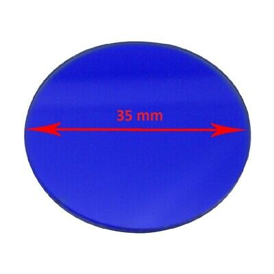 Microscope Blue Color Filter 45 42 35 32 mm Diameter for Biological Microscope 3