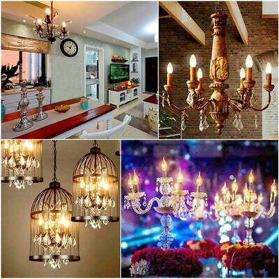1x/4x 2W 4W 6W 8W E27 E14 LED Edison Filament Candle Globe Light Bulbs Lamp 10