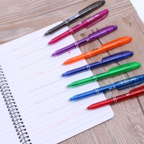 Stylo à encre gel effaçable Pen 8 couleur 0,5 fournitures scolaires de bureau