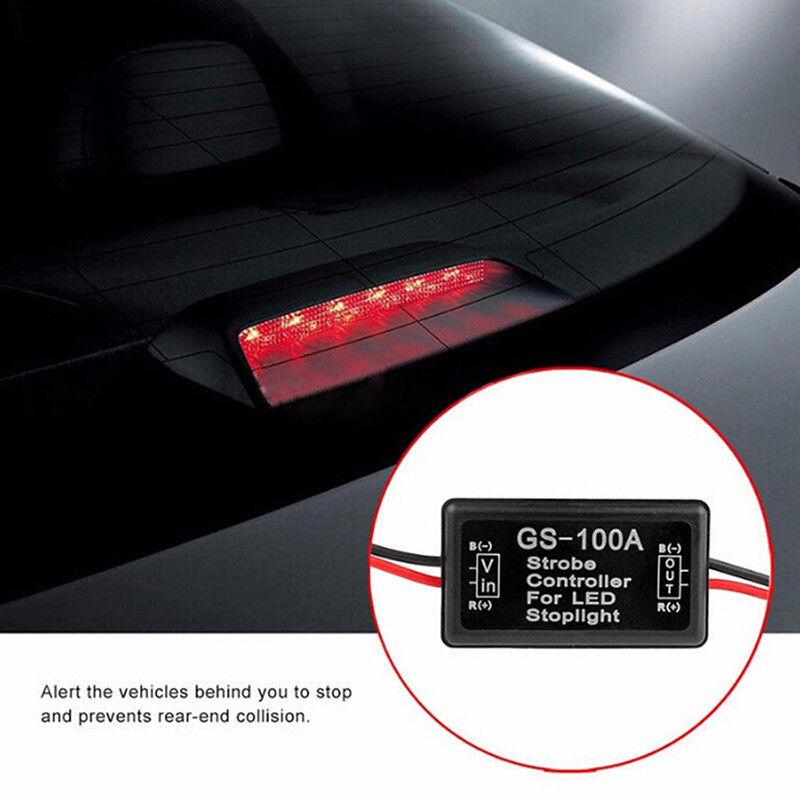 Vehicle Car GS-100A LED Brake Stop Light SFRobe Flash Module ConFRoller Box  K 2