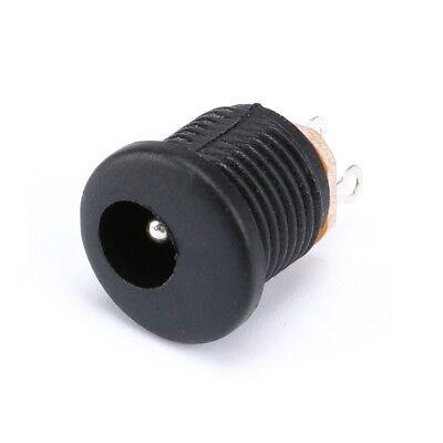 10//20X Stromadapter Weiblich Buchse DC022 2.1x5.5mm mit Schraubverschluss ED
