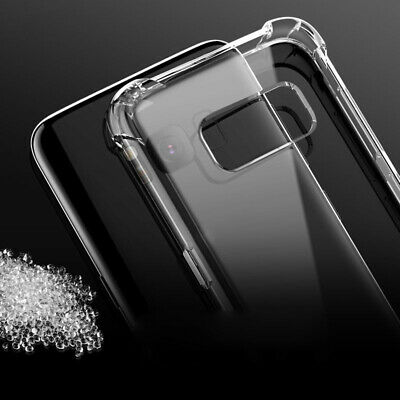 Shockproof Clear Soft Silicone Case For Samsung Galaxy S10 9 8 Plus Note 10 Case 3