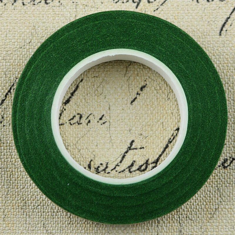 1.2cm Colored Durable Rolls Waterproof Green Florist Stem Tape Party Wedding 8