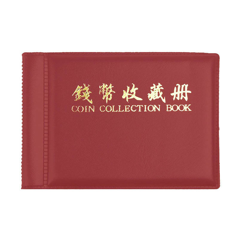 60 Collecting Collection Coin Penny Money Storage Album Book Holder Case LD APE 4