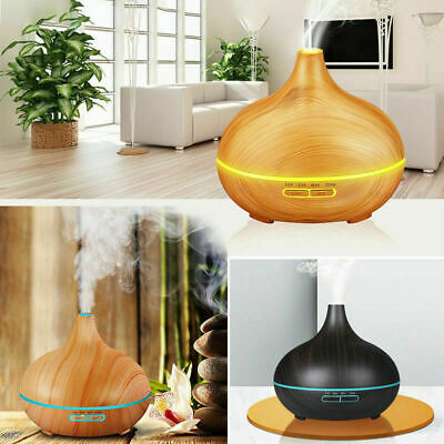 Aroma Aromatherapy Diffuser LED Essential Oil Ultrasonic Air Humidifier Purifier 2