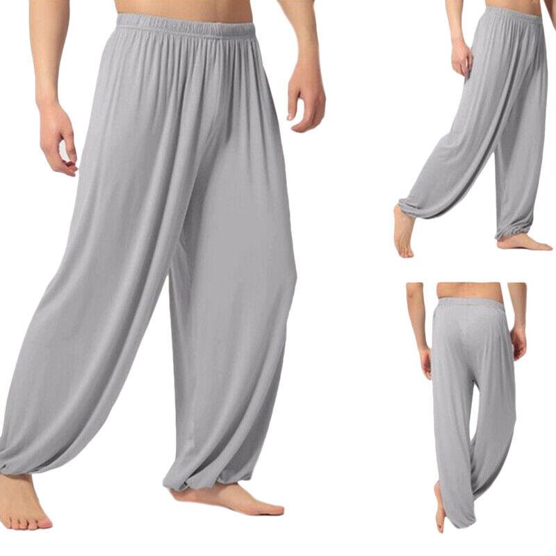 Womens Mens Harem Pants Yoga Festival Baggy Hippie Genie Alibaba Hareem Trouser 4