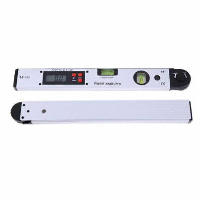 Digital LCD Electronic Angle Finder Meter Protractor Dual Spirit Level 1pc 400MM 7