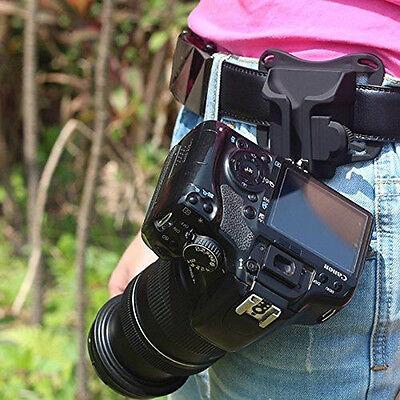 Waist Belt Buckle for Camera Mount DSLR Clip Loading Fast Holster Hanger Holder 6