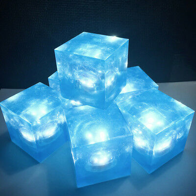 Avengers Thanos Tesseract Cube Universe LED Light Infinity War Cosplay Props 5cm 3