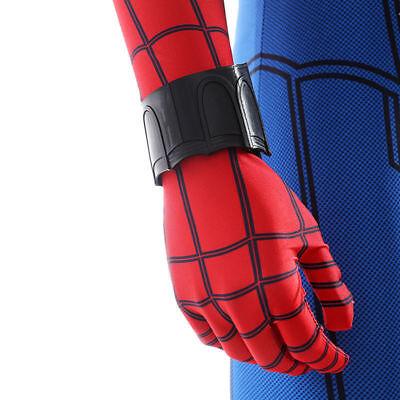 Spiderman Homecoming Peter Web Shooter Cosplay Halloween Wrist Guard Spider Prop 8