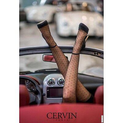 18d0b5b0b92 ... Bas nylon 15 deniers référence Capri 15 Plumetis de la marque française  Cervin 6