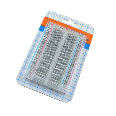 Mini Solderless Breadboard Transparent Material 400 Points Available DIY ATF 2