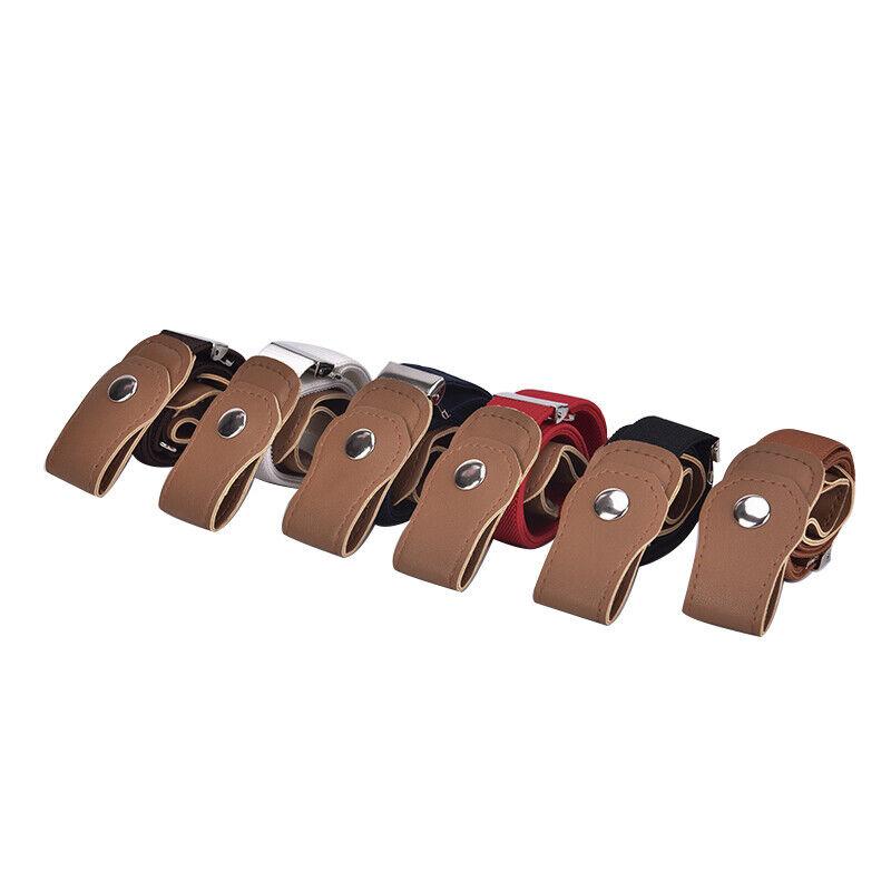 Boys Girls Buckle Free Stretch Belt Jeans Waistband Waist Belt Adjustable TEUS 3