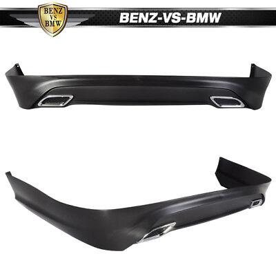 Fit For 13-17 Nissan Sentra Rear Bumper Lip Splitter Spoiler Kit PP OE Style 3