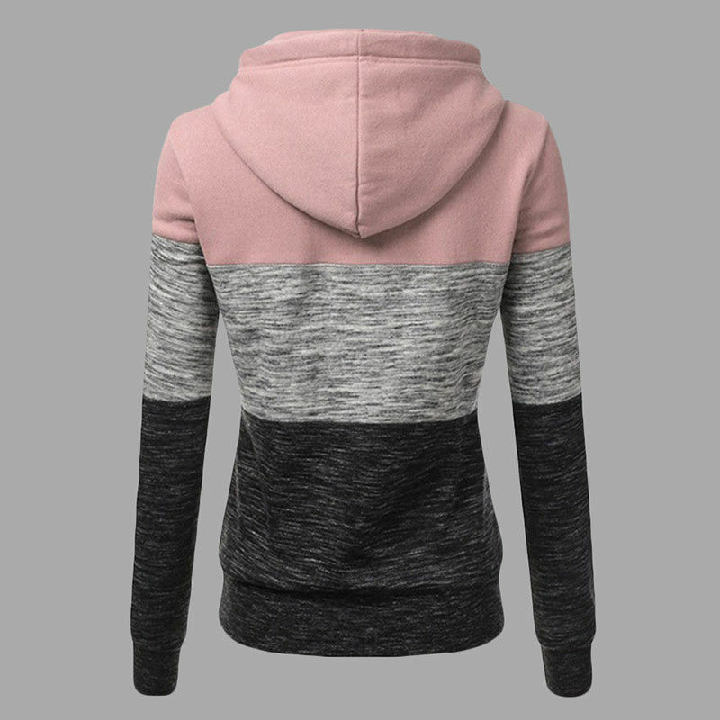 Women's Casual Hoodies Sweatshirt Ladies Hooded Long Sleeve Tops Jumper Pullover 5