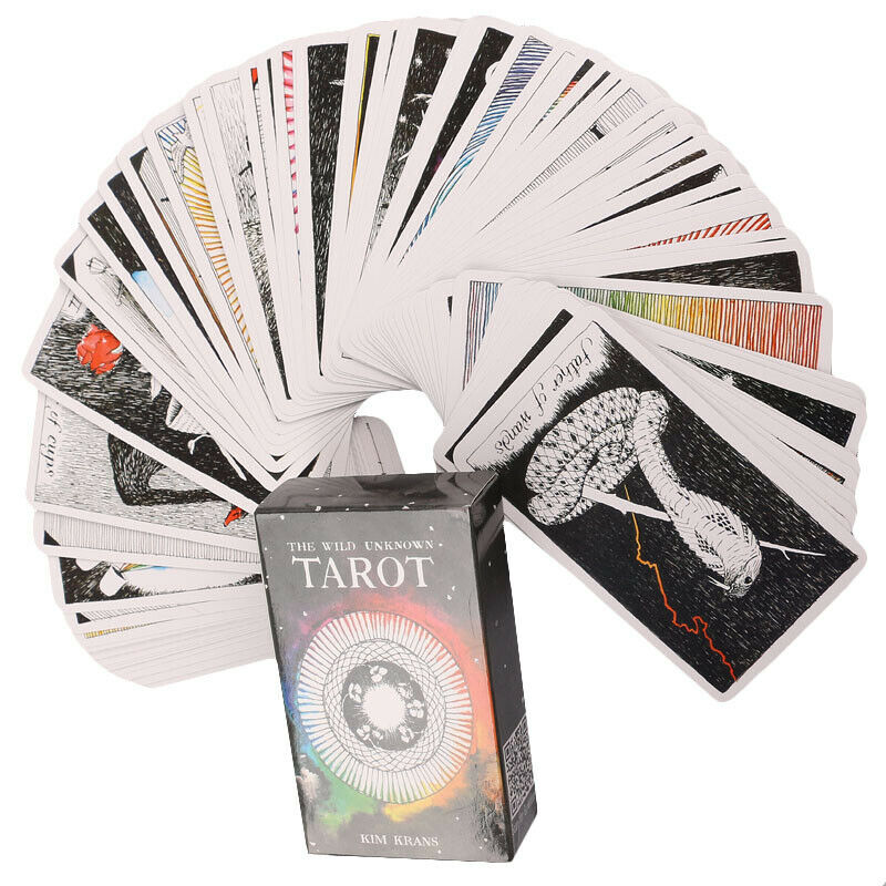 The Wild Unknown Tarot Cards Deck Rider-Waite Oracle Fortune Telling Card Gifts 6