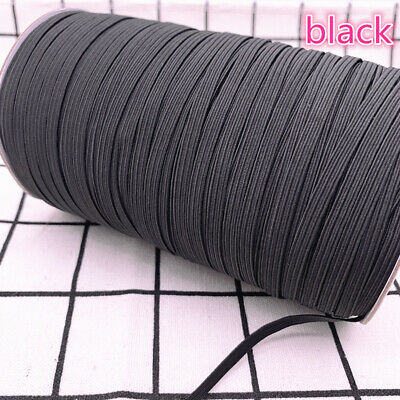 5yds 6mm Hight Elastic Bands Spool Sewing Band Flat Elastic Cord diy Sewmaterial 4