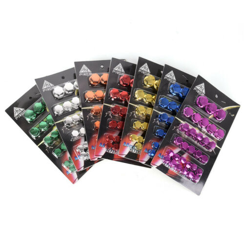 30x Motorcycle Screw Nut Bolt Cap Cover Decoration Centro Motorbike Ornament G$ 7
