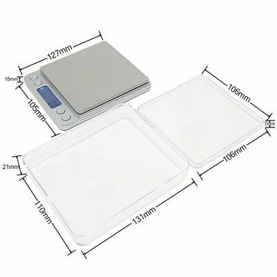 Portable 3000g x 0.01g Mini Digital Scale Jewelry Pocket Balance Weight Gram LCD 6
