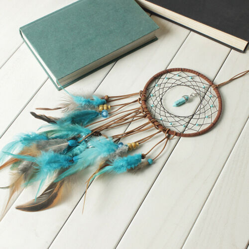 Large Feathers Dream Catcher Dreamcatcher Car Wall Hanging Decoration Ornament 6
