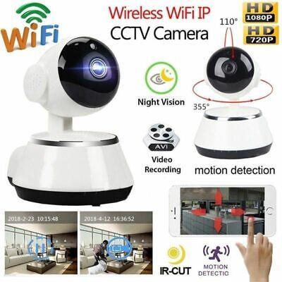 Wireless HD 720P Pan Baby Pet Monitor Network Security IP Camera IR WiFi Webcam 2