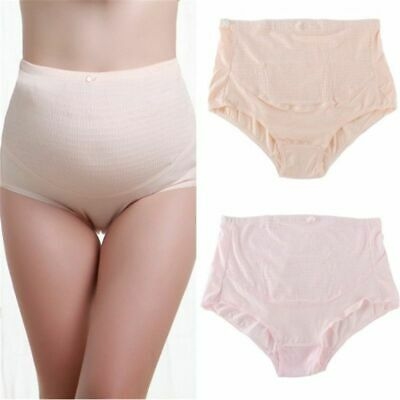 Women's Maternity Lingerie Panties Mid-Rise Everyday Solid Underpants Brief Type 4