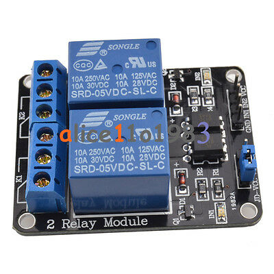 5V 1/2/4/8 Channel Relay Board Module Optocoupler LED for Arduino PiC ARM AVRC 3